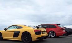 Audi Ailesi Yarışta: R8 V10 – RS6 – S8