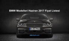 BMW Modelleri Haziran 2017 Fiyat Listesi
