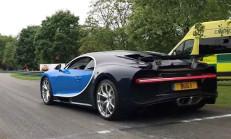 Bugatti Chiron'un Sesine Bayılacaksınız