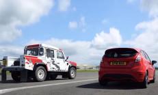 Hangisi Geçer? Ford Fiesta ST – Land Rover Defender V6