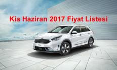 Kia Modelleri Haziran 2017 Fiyat Listesi
