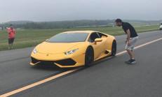 Bu Lamborghini Huracan, Çeyrek Mil Hız Rekorunu Kırdı