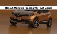 Renault Modelleri Haziran 2017 Fiyat Listesi