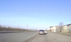 Sol Şeridi İşgal Eden Lada'ya, Honda Accord Ceza Kesti