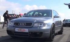 1200 Beygirlik B5 Kasa Audi S4 Wagon'u İzlemelisiniz