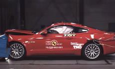 2017 Ford Mustang, Yeniden Euro Ncap Testine Girdi