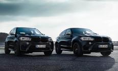 2017 Yeni BMW X5 ve X6 M Black Fire Edition Özellikleri ile Tanıtıldı