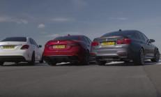 Hangisi Daha Hızlı: Alfa Romeo Giulia QV – BMW M3 Comp. Pack – Mercedes-AMG C63 S