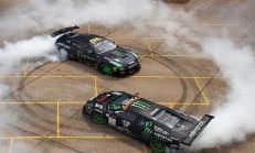 Drift Savaşı: Lamborghini Murcielago ve Nissan GT-R