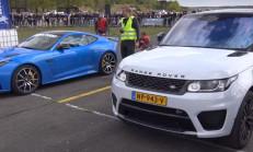 SVR Savaşları: Jaguar F-Type – Range Rover Sport SVR