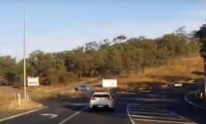 Toyota Supra Anlamsız Şekilde Yoldan Çıktı