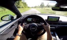 Yeni Audi RS5 Coupe'yi İçinden İzleyin