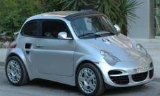 Porsche 911 Görünümlü Fiat 500 Desem?