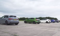 Bu Yarış Kaçmaz: RS 3 – A45 AMG – Civic Type R – Golf R – Focus RS