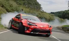 1150 Beygirlik Toyota GT86'dan Nefes Kesici Drift