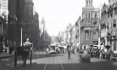 1910 Yılında Melbourne Sokaklarındaki Trafiğin Video Kaydı Ortaya Çıktı