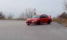 Mitsubishi EVO'dan Drift Kesitleri (Mutlaka İzlemelisiniz)