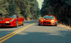 Ferrari Motorlu GT86'nın Drift Çekimlerine 458 Eşlik Etti