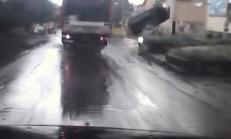 Şehir İçinde Aşırı Hız, Feci Kazayla Sonuçlandı