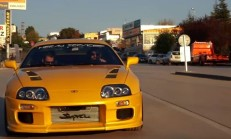 Türkiye'nin En Hızlılarından 1400 Beygirlik Toyota Supra