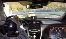 2018 Honda Civic Type-R, Ring'de Süper Sporların Canını Yaktı