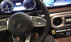 2019 Yeni Kasa Mercedes G Serisi İçi Görüntülendi