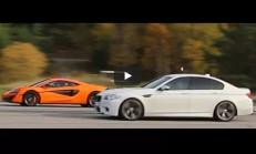 750 Beygirlik BMW M5, McLaren 570S'e Karşı