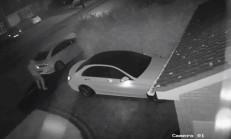 Hırsızlar, Mercedes'i Anahtarsız Çaldılar