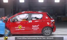 Euro Ncap'ten, 2017 Toyota Yaris'e Tam Not