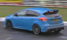 Ford Focus RS, Drift Modunda Nürburgring'in Tozunu Attırıyor