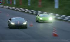 1200 Beygirlik Lamborghini Huracanların Savaşını İzlemelisin