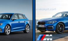 2018 Audi RS3-BMW M140i xDrive Teknik Verilerle Karşılaştırması