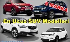 2018 Ocak Ayının En Ucuz SUV Modelleri (100 bin TL Altı)