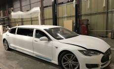 Tesla Model S'ten Limuzin Yaptılar