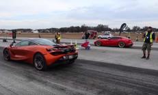 Hangisi Geçer? 800 PS Ferrari F12 – McLaren 720S