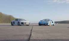Hangisi Geçer? Audi R8 V10 Plus – McLaren 570S Spider