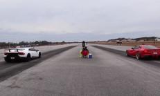 Hangisi Geçer? 800 Beygirlik Ferrari F12 – Lamborghini Huracan Performante