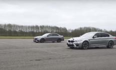 Bu Yarış Kaçmaz! 2018 BMW M5 ve Mercedes-AMG E63 S