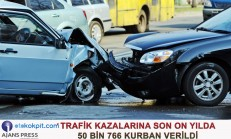 Trafik Kazalarına 10 Yılda 50 Bin 766 Kurban Verdik (2007-2017)