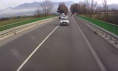 Uyuyan Dacia Sürücüsü, Kamyon'a Kafadan Girdi
