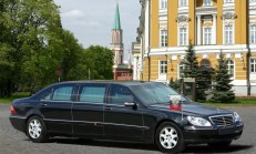 Zamanında Putin'in Makam Aracı Olan Mercedes-Pulmann S600 W220