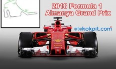 2018 Formula 1 Almanya Grand Prix Hangi Gün Saat Kaçta