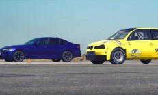 Hangisi Geçer? 550 Beygirlik Seat Arosa ile Yeni BMW M5