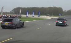 Alpina B7, Mercedes C63 S ve Audi RS6'ı Piste Gömdü