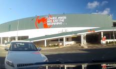 Audi Q7, Dönerken Amarok'a Çarptı