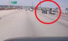 Pick-Up Sürücüsünün Öfkesi Kendi Başına Yaktı