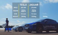 Hangisi Geçer? Tesla Model S 75d – Jaguar I-Pace