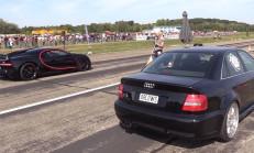 Hangisi Geçer? 1300 Beygirlik Audi S4 B5 – Bugatti Chiron