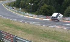 Daihatsu Cuore, Nürburgring'te Patlamadan Son Anda Kurtuldu