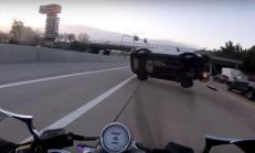 Motosikletli, SUV Sürücüsünün Kurbanı Oldu